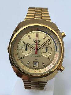 Heuer - Vintage Montreal Chronograph Calibre 12 - 110.505 - Heren - 1970-1979