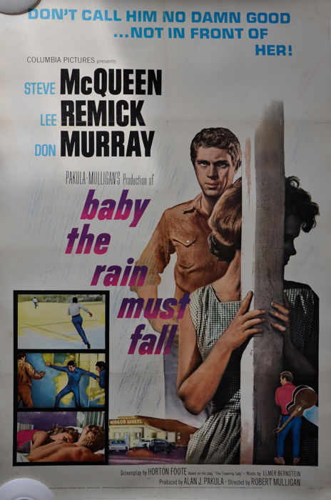 Steve Mc Queen - Baby the Rain must Fall - 1964