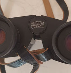 Carl Zeiss Jena Notarem binocular bag 8x32B mc