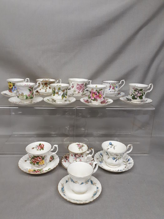 Royal Albert, 12 kop en schotels