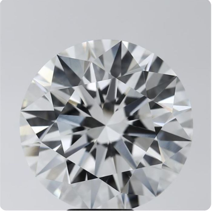 Rare Diamond Round Brilliant DIF 25.13 CT Amazing Diamond #L12 - Guaranteed World Best Investment in This Size - It's Possible To collect the Diamond from Hrd For Verification