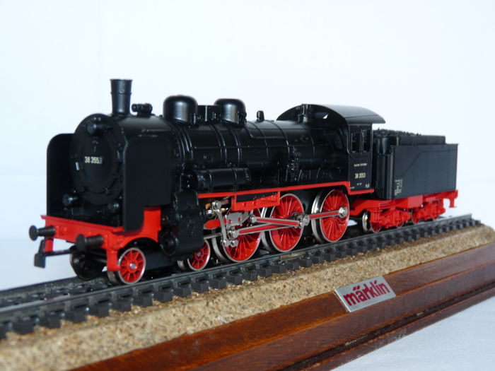 Märklin H0 - 3099 - Steam locomotive with tender - BR 38 - DRG