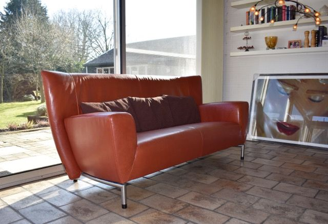 Gerard van den Berg for Label - Indian buffel leather sofa