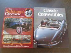 Lot: 2 Books - The Schlumpf Obsession & Classic Convertibles - 1977/1988