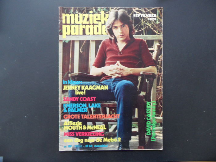 a lot of 4 monthly Muziekparade from the early seventies