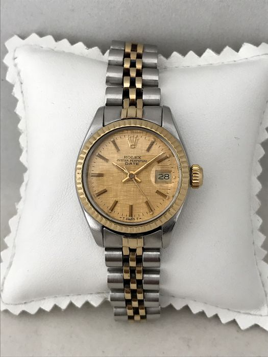 Rolex - Oyster Perpetual Date  - 6917 - Mujer - 1970 - 1979