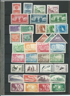 China 1950/1959 - Collection, all complete sets