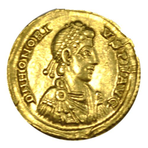 Byzantine empire - Honorius (393-423), Solidus, Mediolanum, 395-402, gold