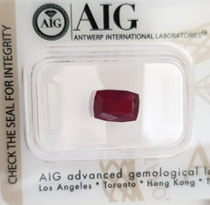 Ruby – 1.88 ct – No Reserve