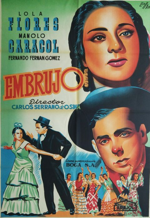 Lloan - Embrujo (Lola Flores and Manolo Caracol) - 1957