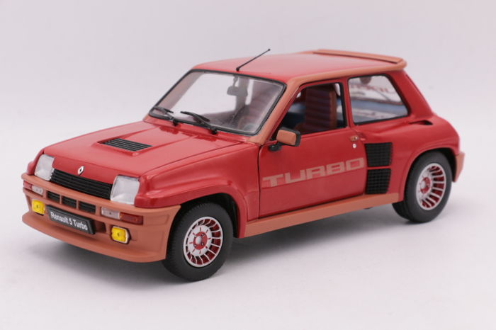 Solido - Scale 1/18 - Renault 5 Turbo - 1984 - Colour: Red