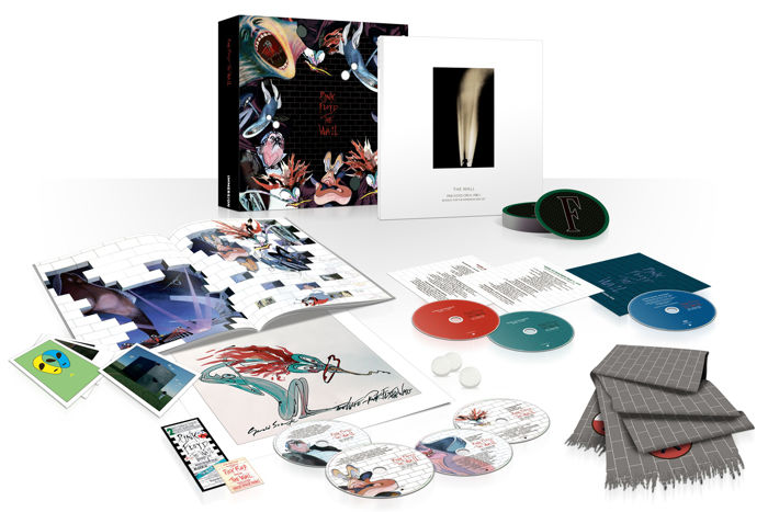 Pink Floyd – The Wall Immersion Limited Deluxe Boxset / 6xCD, 1xDVD / Collector's Edition