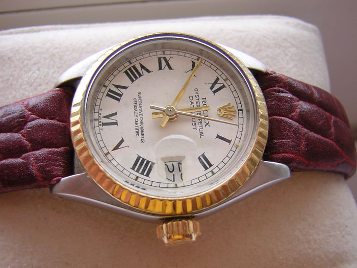 Rolex - Oyster perpetual datejust - 6917 - Dames - 1980-1989
