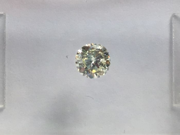 Brilliant cut diamond 0.17 ct L VS 2 with IGI certificate