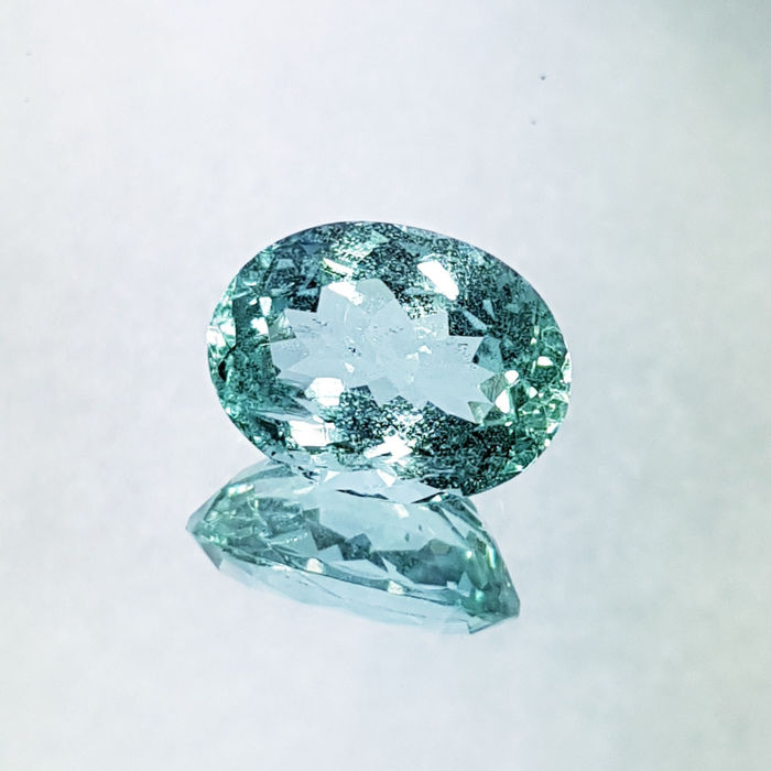 Aquamarine - 6.48 ct