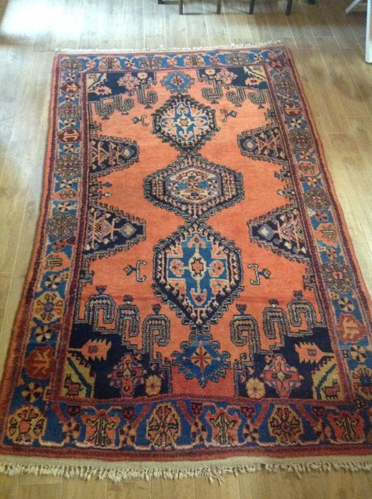 Nomad rug, hand-knotted, 265 x 165 cm