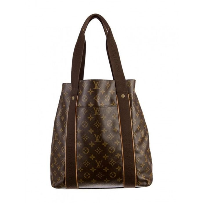 ea0bee71d58d Louis Vuitton - Cabas Beaubourg Monogram canvas Sac en bandoulière ...