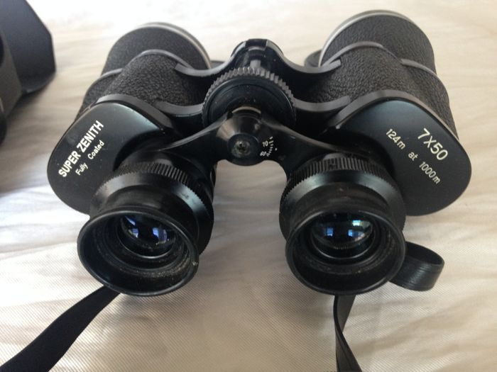 Super Zenith 124 m at 1000 m professional binoculars