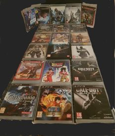 Lot of 20 games ps3 including 1 limited edition full nine