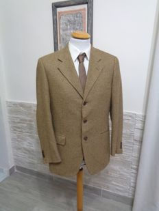 Ermenegildo Zegna jacket in cashmere and silk + Prada Milano tie