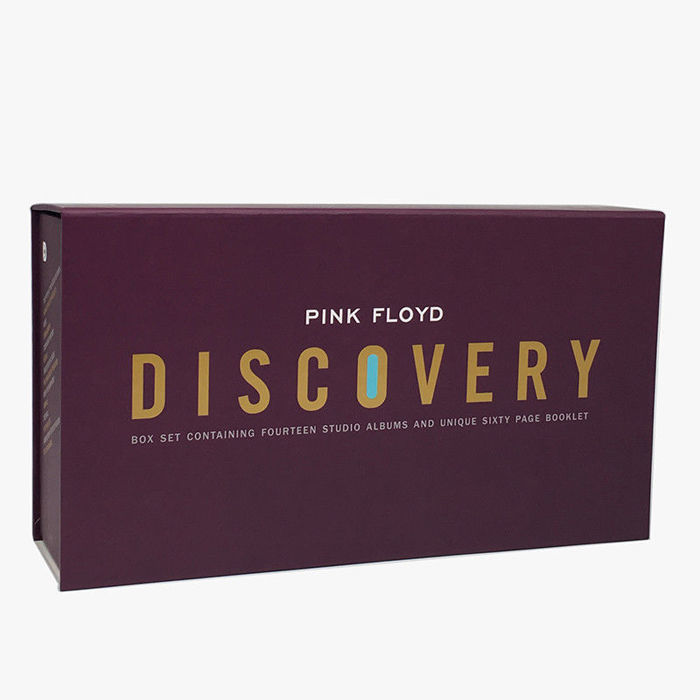 The Pink Floyd Discovery - 14 Albums Studio - 16 CD -  Box Set Collection - With 60 page booklet