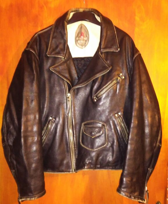 Diesel - leather jacket - MC style,  2000