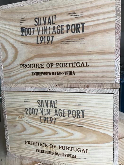 "2007 Vintage Port - Quinta do Noval ""Silval"" - 12 bottles in 2 cases"