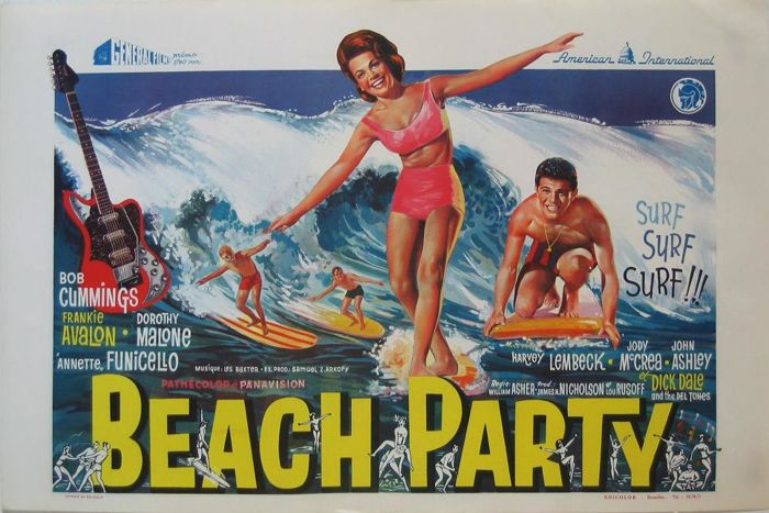 Beach party (Bob Cummings / Dorothy Malone) - 1963