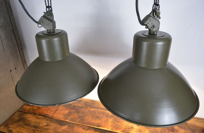 OG-200 Polam - Industrial Lamps (2x)