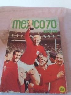 Panini Variant - Van der Hout - World Cup Mexico 70 - Full Album