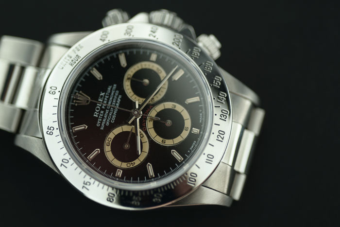 rolex daytona patrizzi dial 16520 herren 1990. Black Bedroom Furniture Sets. Home Design Ideas
