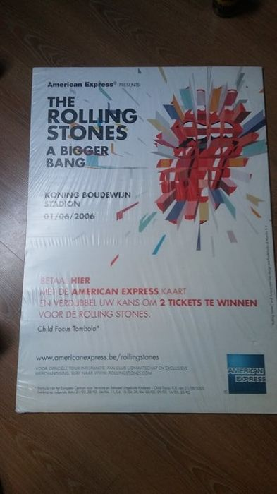 The Rolling Stones : 3 Original Tour Posters