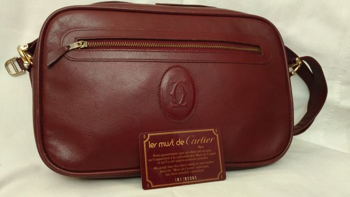 986cde7bfd218 Cartier Schultertasche - Vintage - Catawiki