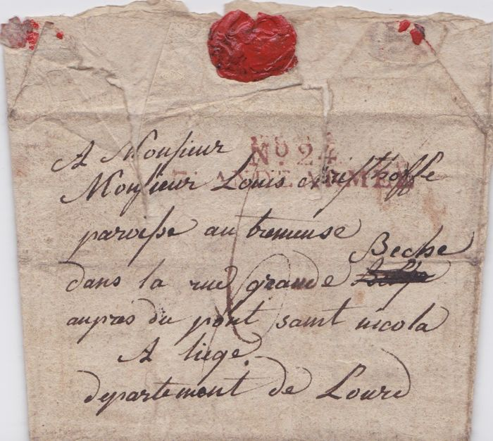 Letter Grand Army # 24 - Napoleonic 1808