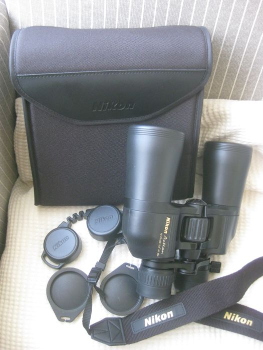 Powerful binoculars NIKON ACTION 10 - 22 x 50 3.8 at 10x