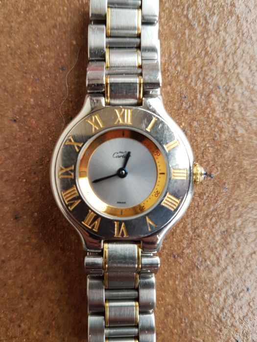 Cartier - Must 21 - 1340 - Dames - '2000