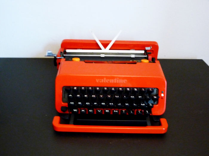 Ettore Sottsass and Perry A. King for Olivetti - Valentine typewriter