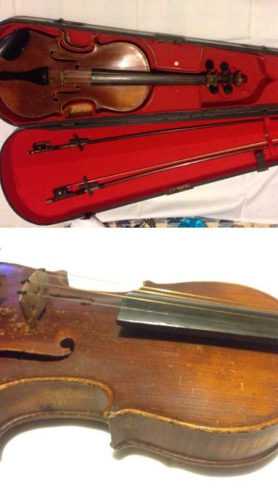 Violin 3/4 from the early 1900s