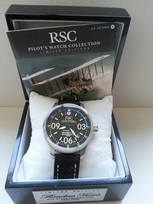 RSC 202 Vickers F.B.5 Pilot -  Limited Edition 060/ 250 - Heren - 2015