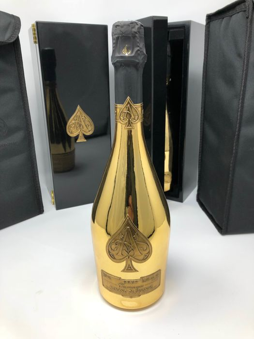 Armand de Brignac Gold Edition Brut - 1 bottle (75cl) in case
