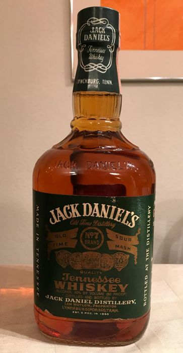 Jack Daniel's Green Label - 1.75 liter