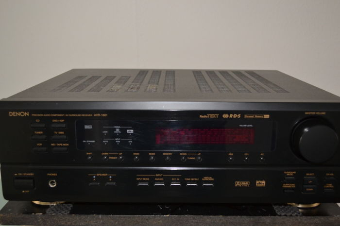 denon avr 1601 5 1 with remote control and manual catawiki rh auction catawiki com denon avr 1601 user guide denon avr 1601 manual español