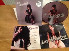 "Amy Winehouse - Lot of 3 Albums ( 4 Lp's ) - "" The Best of Redux - Limited Picture Disc "" / "" Scoop The Pearls Up From the Sea "" / "" Back to Black Remixes """