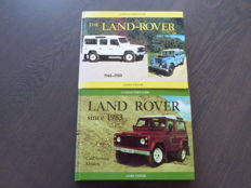 Books - Lot; James Taylor - The Land Rover - 1993/1996
