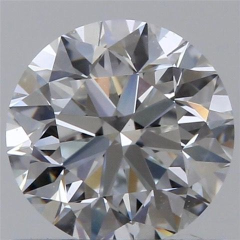 Round brilliant diamond, colour F, purity VS1, certified GIA, 0.71 ct