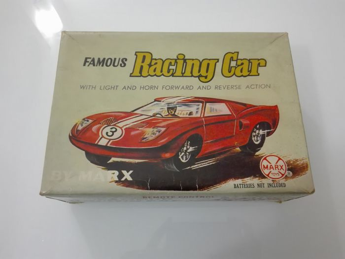 Marx & Co. Toys, Hong Kong (England) / China - Famous Racing Car / Coupé ME 742