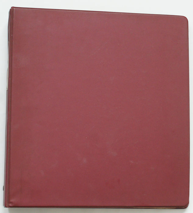 France 1849/1990 - collection in binder and Minkus album pages