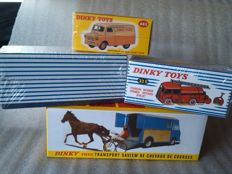 Atlas-Dinky Toys - Scale 1/43 - Lot x 4 Utility vehicles: Saviem, Berliet, Bedford & Foutgon