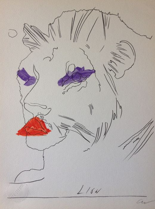 Andy Warhol - Lion/Leone
