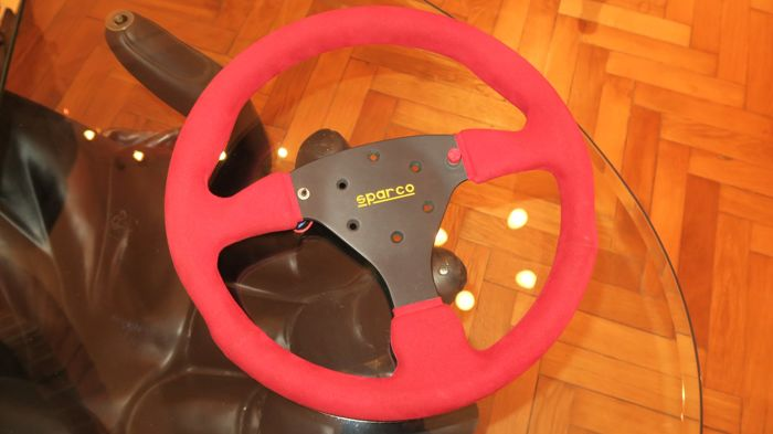 Original Sparco steering wheel - Racing version